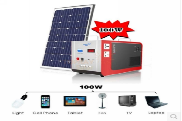Solar Power Kit 100W