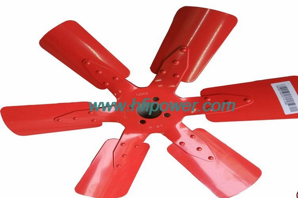 Cummins engine parts C4931801 4BT construction fan blades